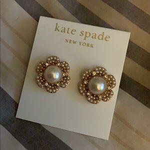Kate Spade Park Floral Earrings